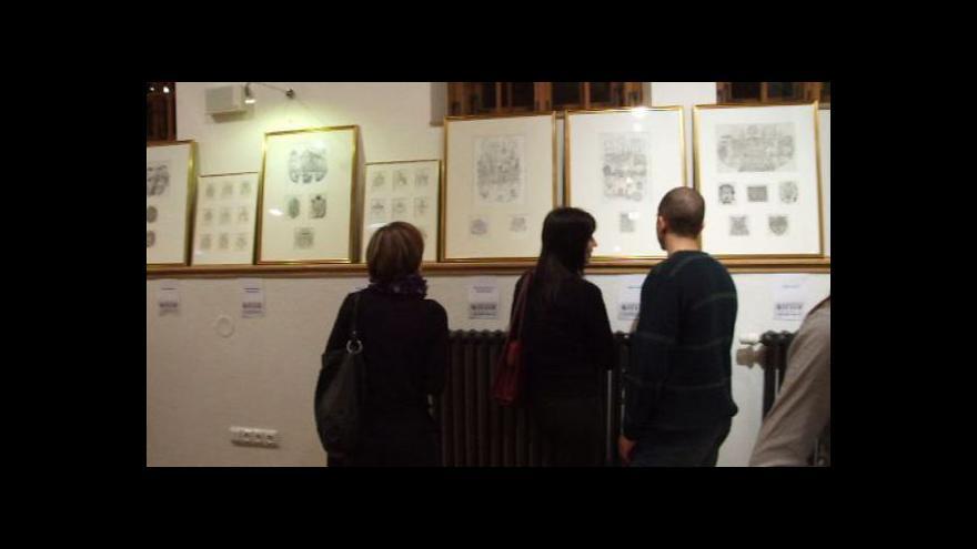 Video Vernisáž výstavy prací Františka Doubka v Písku