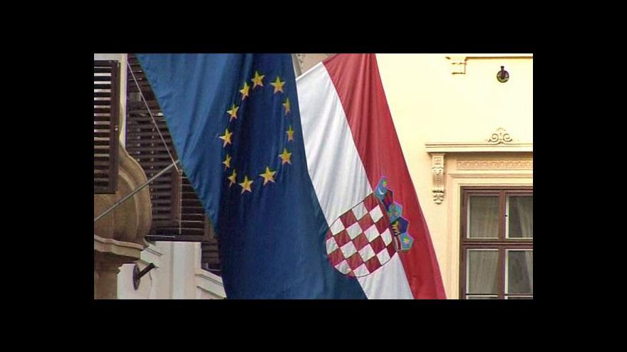 Video Chorvatsko se chystá na referendum k EU