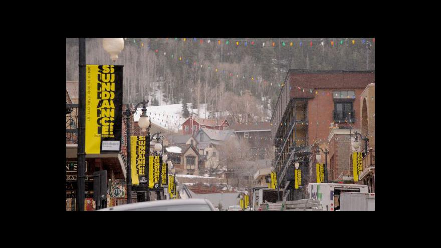 Video Kryštof Mucha informuje ze Sundance