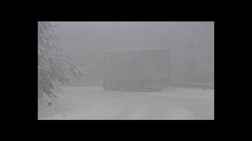 Video Počasí a sjízdnost silnic