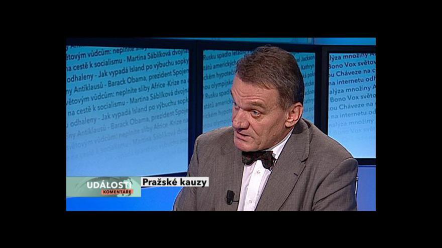 Video Bohuslav Svoboda v Událostech, komentářích