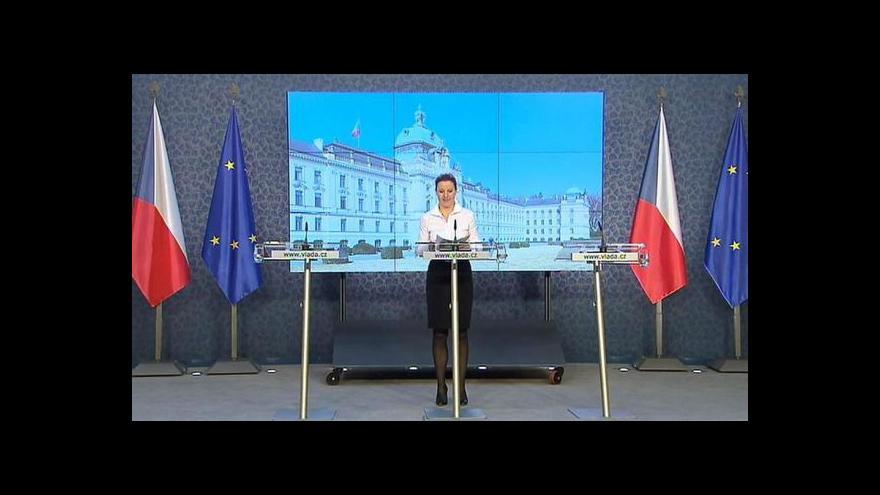 Video Brífink po jednání vládního výboru