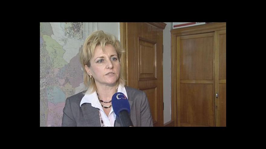 Video Starostka městské části Brno-sever Sabina Tomíšková o případné rekonstrukci