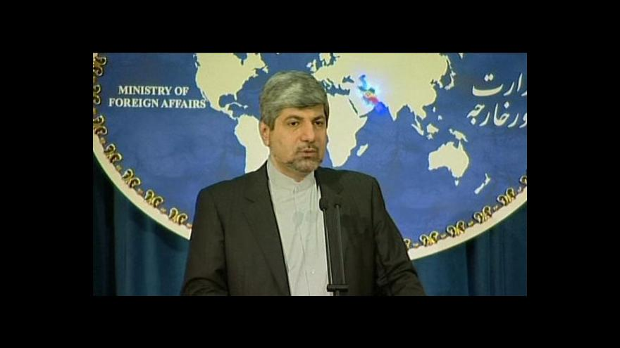 Video Íránská ropa