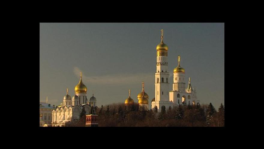Video Studio ČT24 o situaci v Rusku