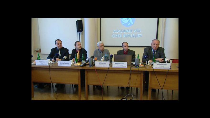 Video Brífink Akademie věd ke konci světa