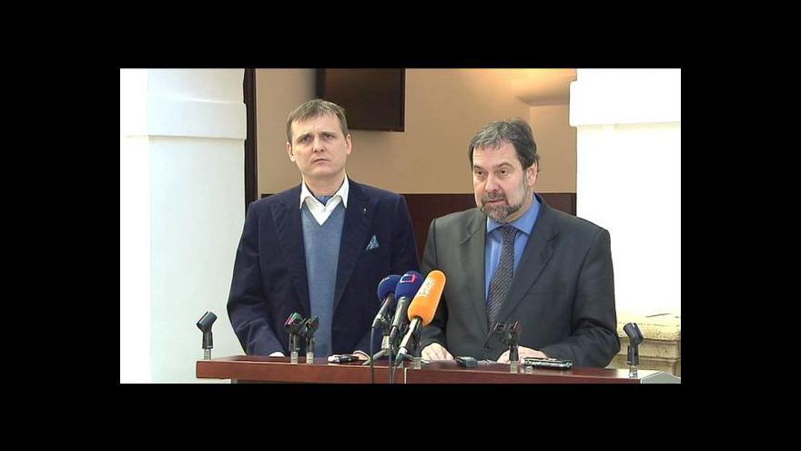 Video Brífink VV k usnesení vlády a státním úsporám