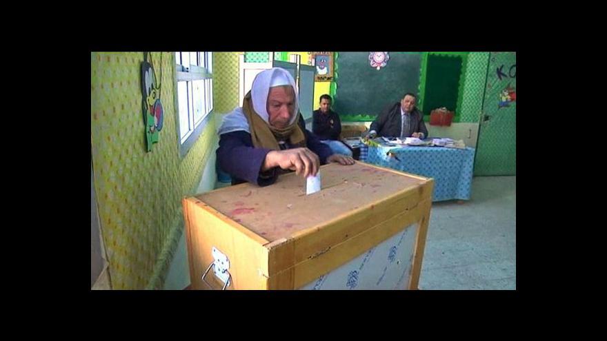 Video Studio ČT24 - V Egyptě se očekávají výsledky voleb