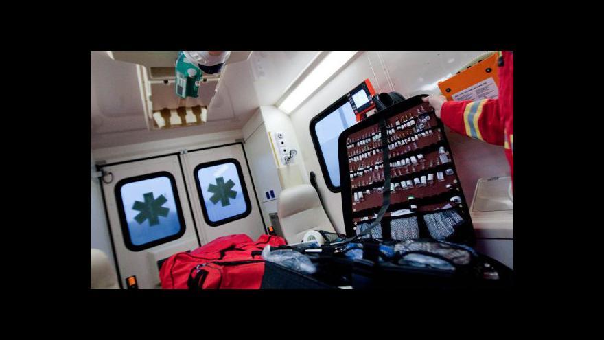 Video Studio ČT24 - záchranáři se potýkají s neukázněnými řidiči