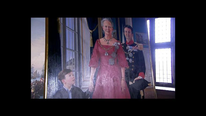 Video Dánsko oslavuje královnu Margrethe II.