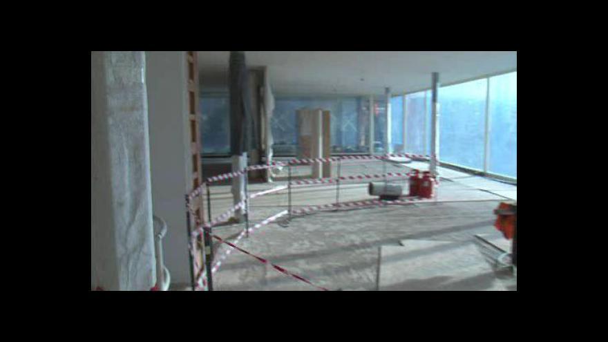 """Video """"Virtuální"""" procházka vilou před dokončením rekonstrukce"""