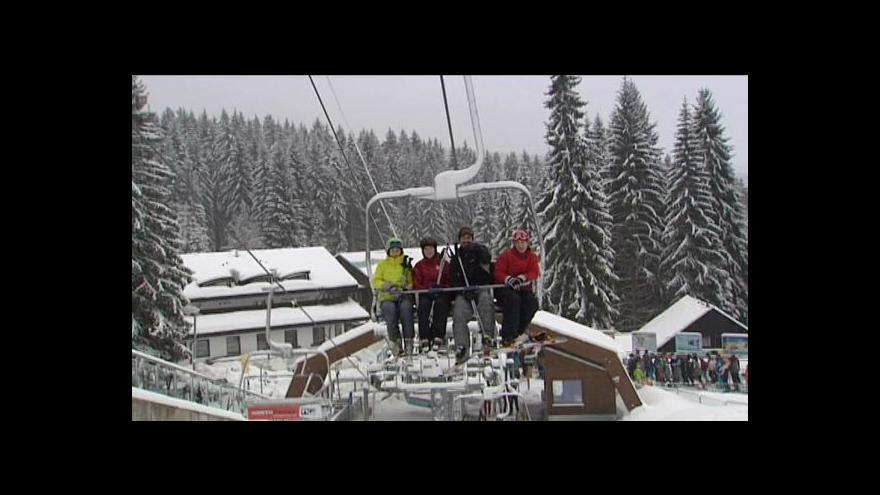 Video Šumava i Vysočina nabízejí ideální lyžařské podmínky