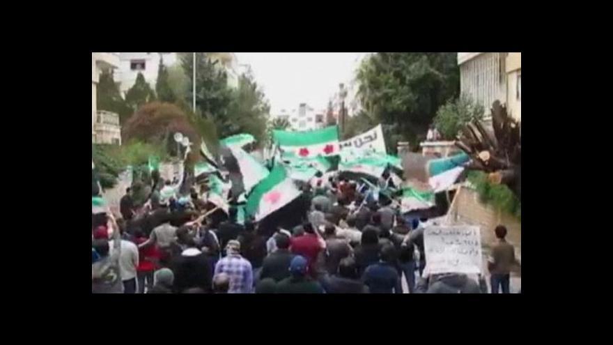 Video Studio ČT24 o situaci v Sýrii