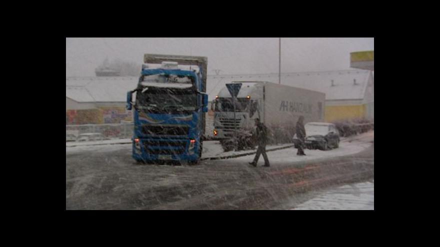 Video Situace na silnicích a železnici