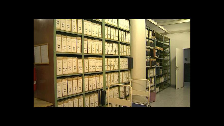 Video Primátor Zlína Miroslav Adámek (TOP 09) o baťovském archivu