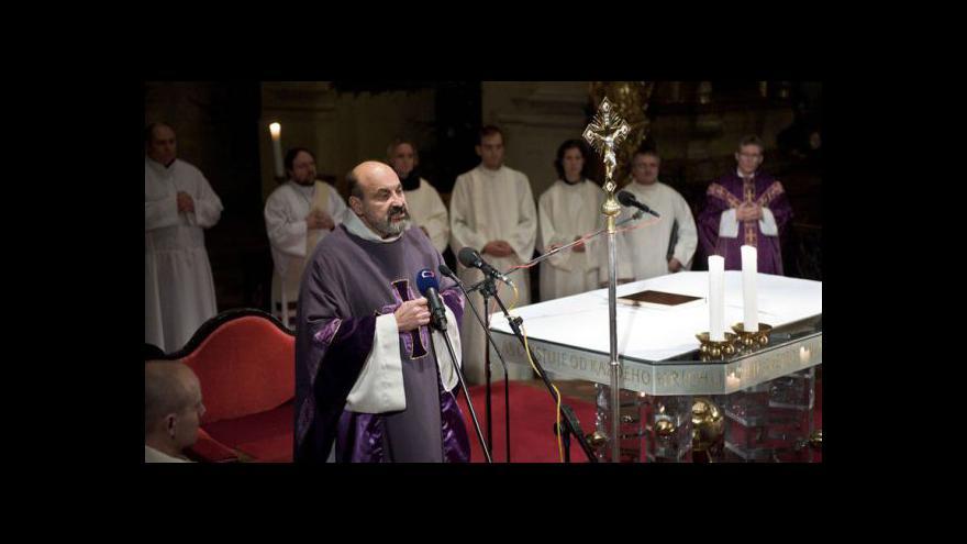 Video Z kostela Nejsvětějšího Salvátora informuje Eva Davidová