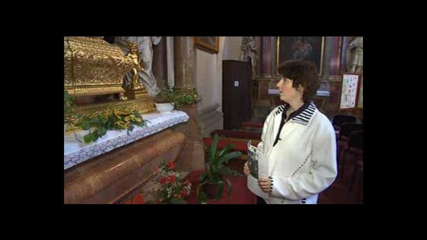 Video Hovoří průvodkyně z kostela v Holešově Leona Čapková