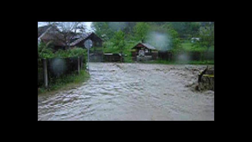 Video Povodně v Němčovicích, květen 2005. Zdroj: Karel Ferschmann