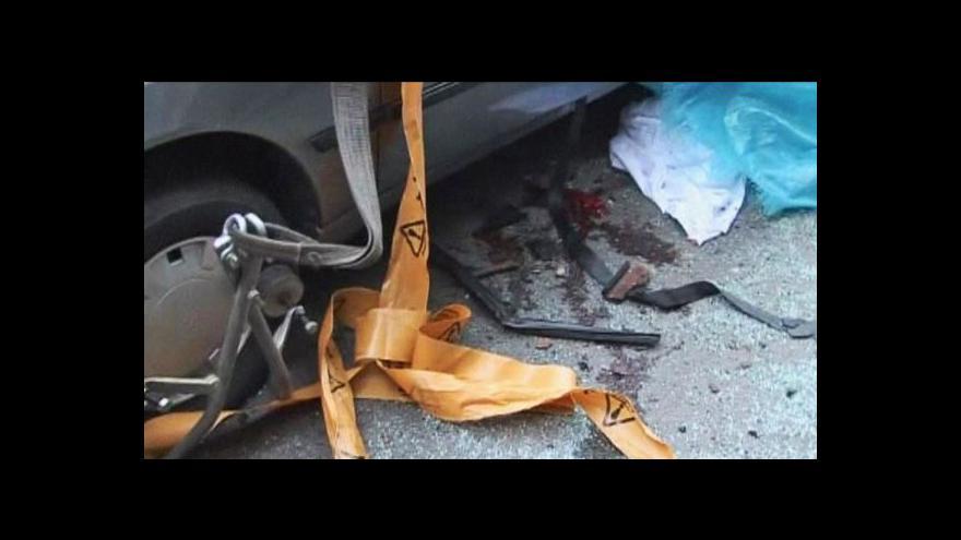 Video Bomba usmrtila íránského profesora