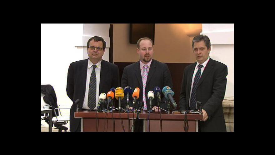 Video Brífink ČSSD k církevním restitucím