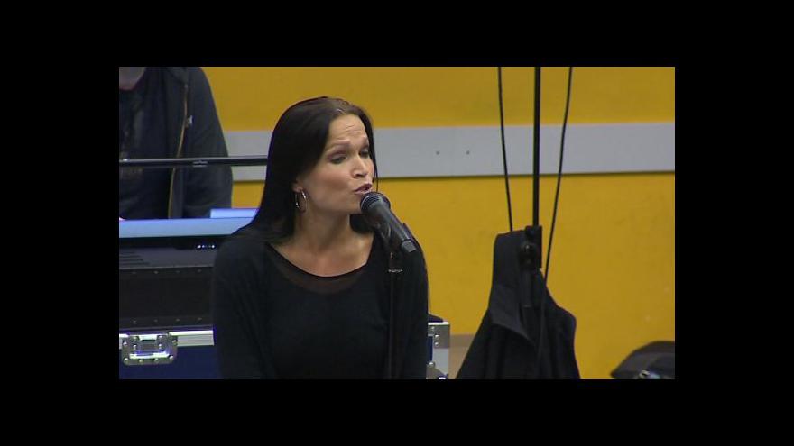 Video Zpěvačka Tarja Turunenová o koncertu
