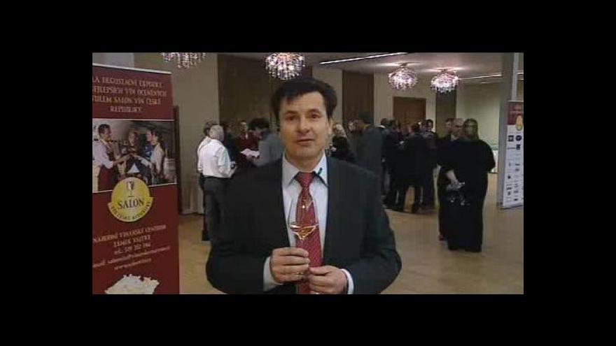 Video Hovoří předseda hodnocení Salonu vín 2012 Josef Balík