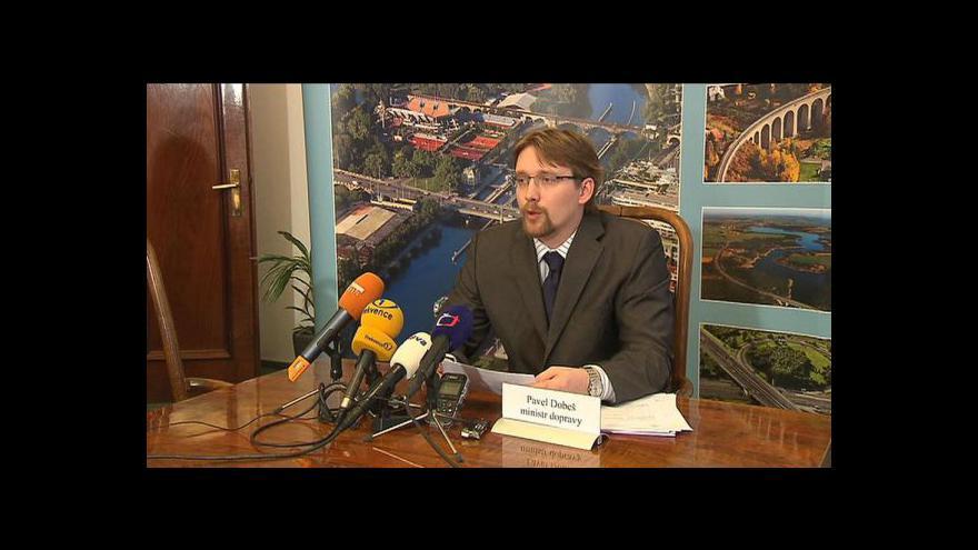 Video TK Pavla Dobeše k dostavbě dálnice D11