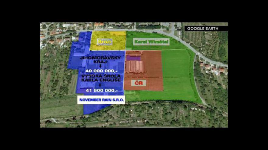 Video Rozdělení pozemků zahradnické školy v Brně-Bohunicích