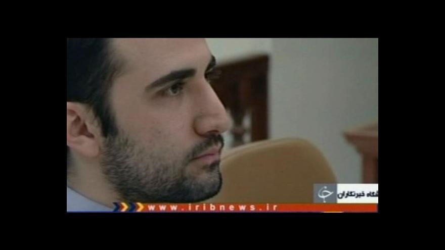Video Írán pošle na smrt Američana