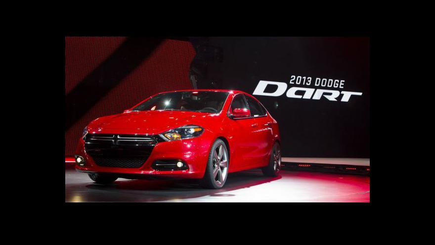 Video Autosalon v Detroitu tématem Ekonomiky ČT24