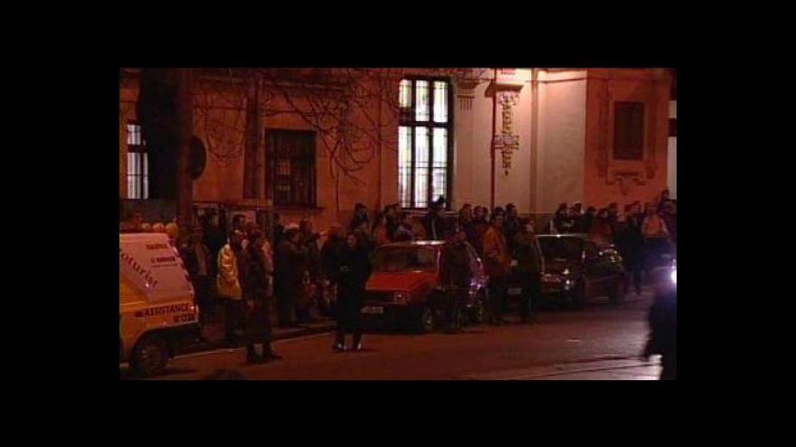 Video NO COMMENT: Tragický požár brněnského kasina