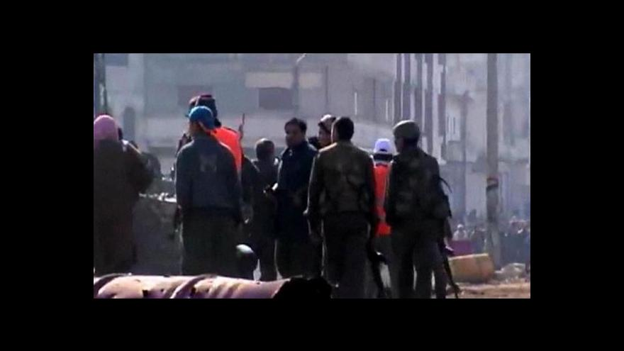 Video LAS jedná o odsunu pozorovatelů ze Sýrie