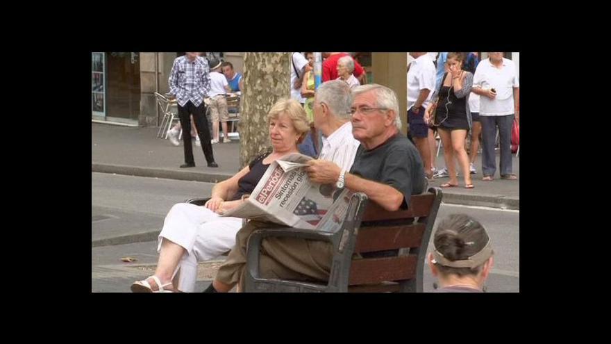 Video Španělsko má další plán na boj s krizí
