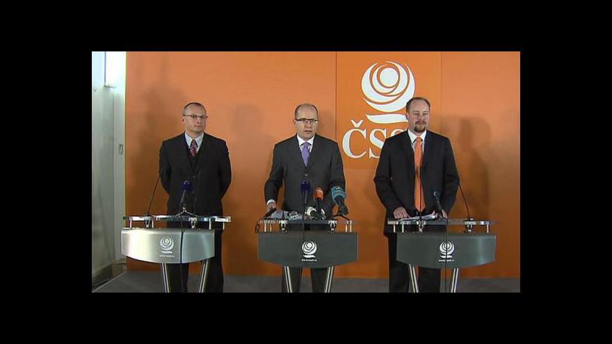 Video Brífink ČSSD o ústavní stížnosti na reformní zákony