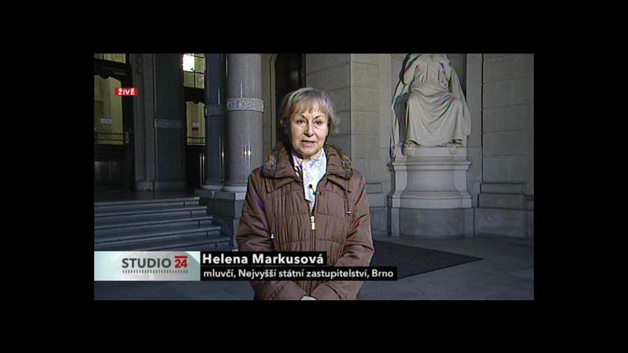 Video Rozhovor s Helenou Markusovou