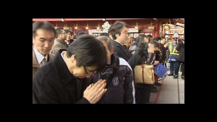 Video Zahájení nového roku na tokijské burze