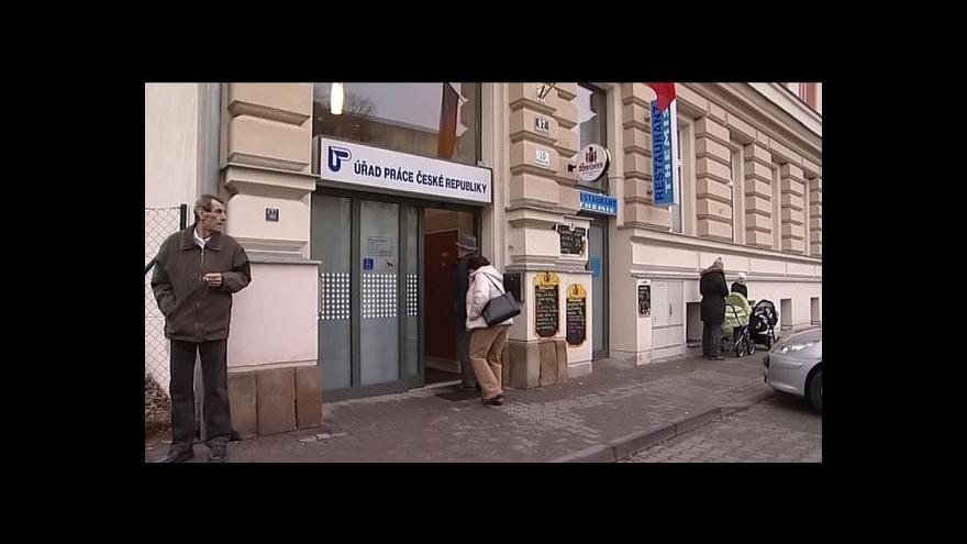Video Zdravotně postižení obsadí úřady práce