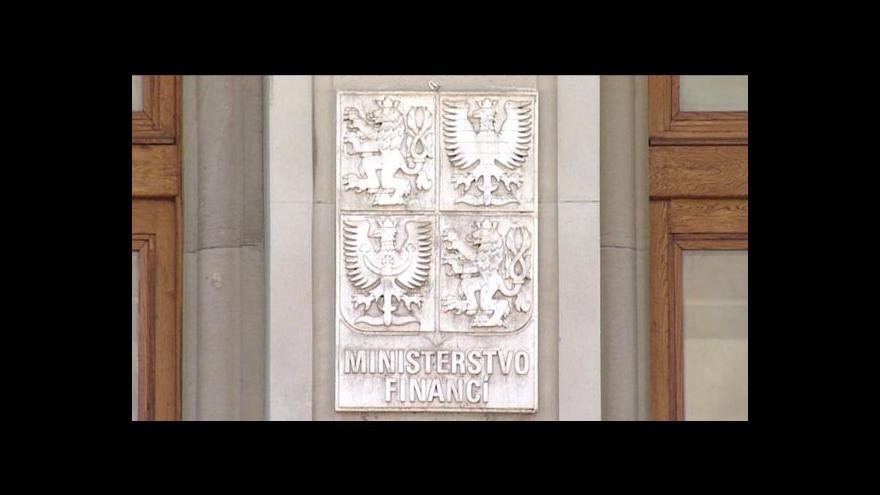 Video Brífink ministra financí k rozpočtu za rok 2011
