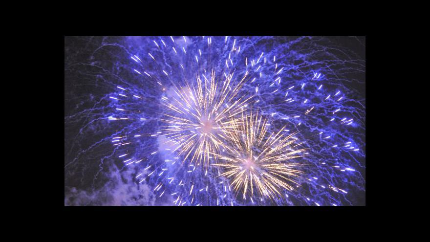 Video Události k oslavám nového roku