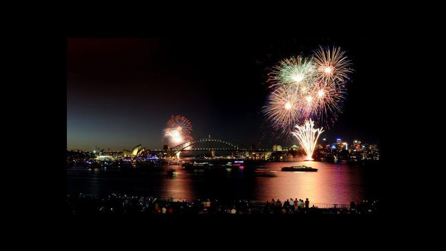 Video Odpolední události k vítání nového roku ve světě