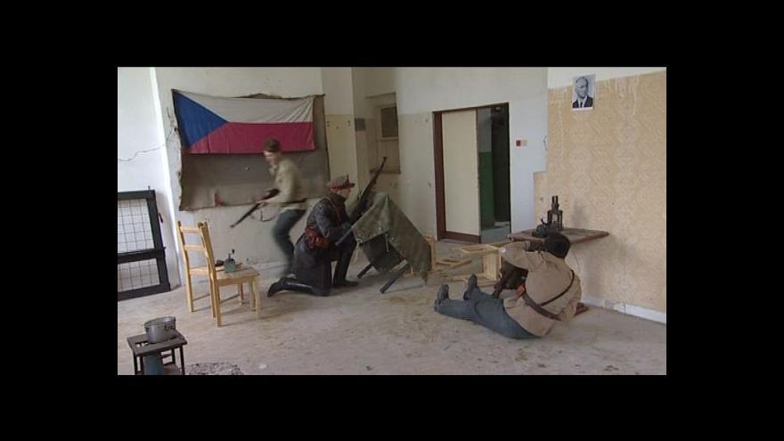 Video NO COMMENT: Bojová ukázka v Muzeu železné opony