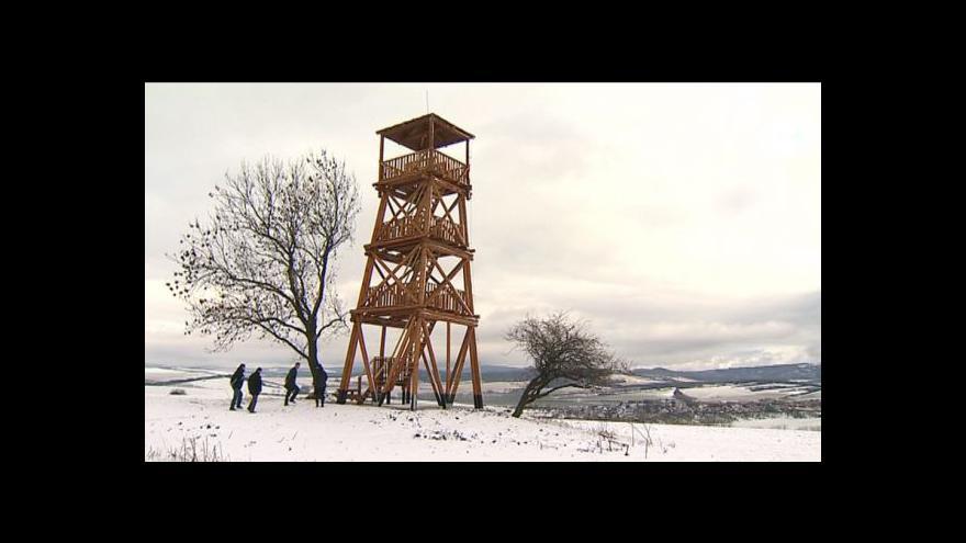 Video NO COMMENT: Nová rozhledna v Nivnici
