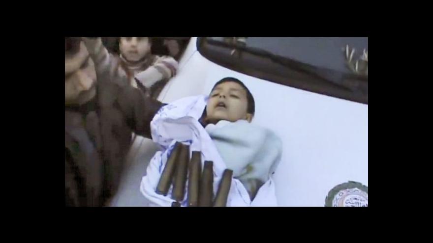 Video V Sýrii se znovu demonstruje