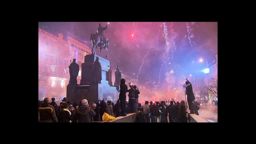 Video Přípravy na silvestrovské oslavy vrcholí