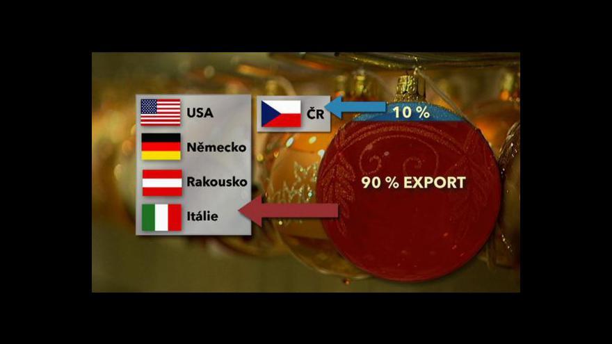 Video České vs. čínské ozdoby