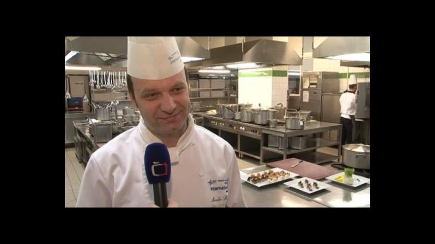 Video Hovoří šéfkuchař hotelu Internacional Brno Miroslav Husák