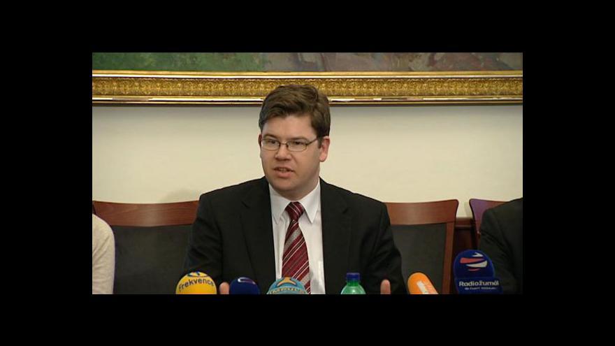 Video Brífink Jiřího Pospíšila k registru přestupků