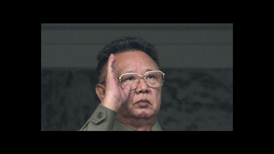 Video Události, komentáře k pohřbu Kim Čong-ila