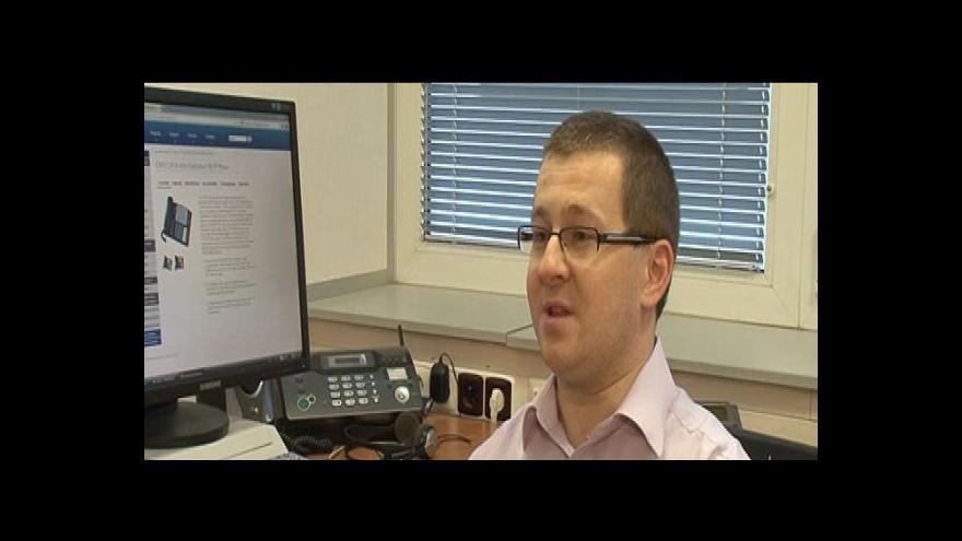 Video Hovoří odborník na internetovou telefonii Pavel Cenek