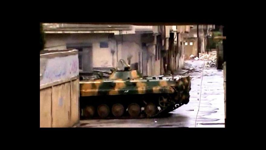 Video Do Sýrie dorazili pozorovatelé z LAS